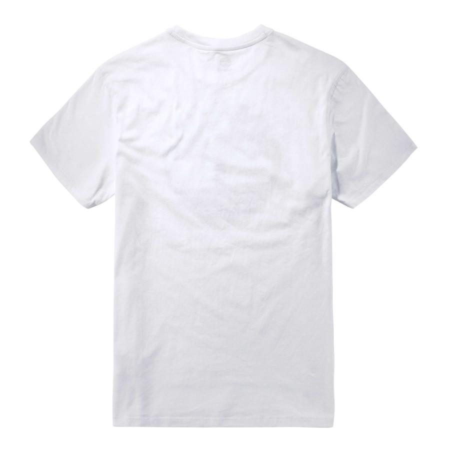 [A11HJ] 남성 다크 트리 로고 티셔츠- 화이트