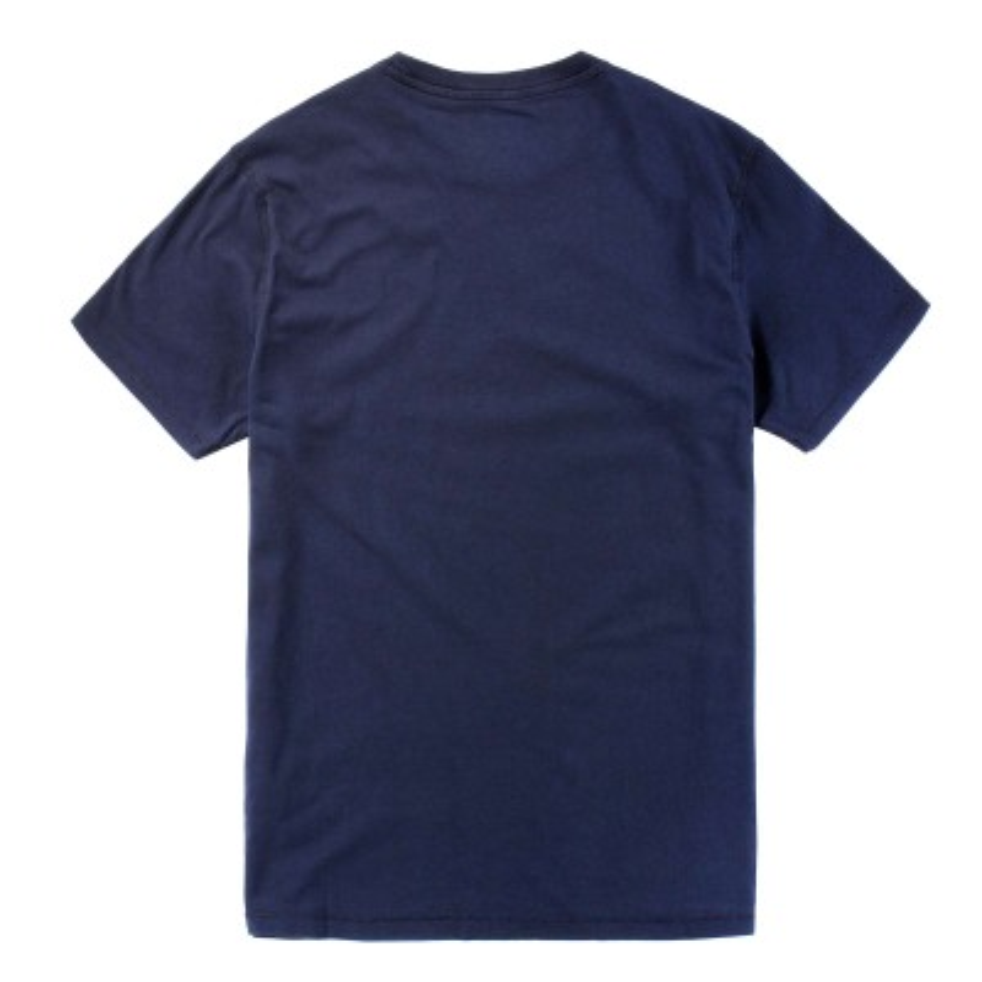 [A11HJ] 남성 레드 트리 로고 티셔츠- 네이비