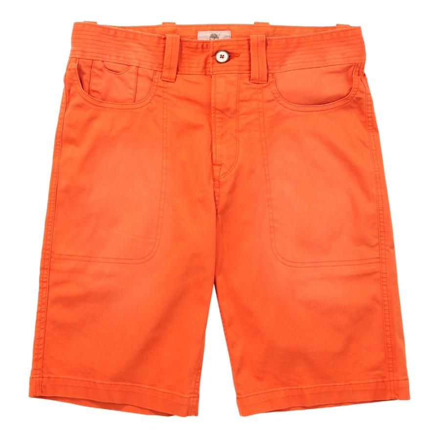 [A196S] 남성 면 숏팬츠- 오렌지
