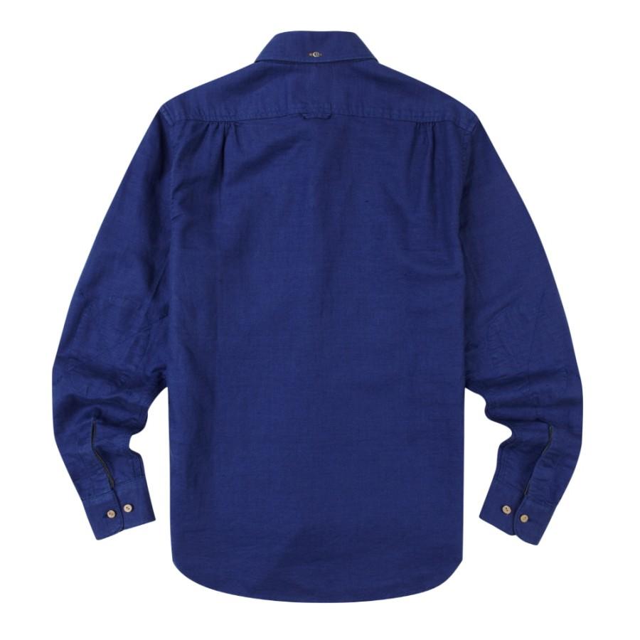 [A1FR2]남성 옥스포드 셔츠 슬림핏- 블루