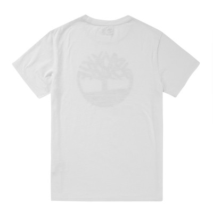 [A1H5H] 남성 카모 트리 로고 티셔츠- 화이트