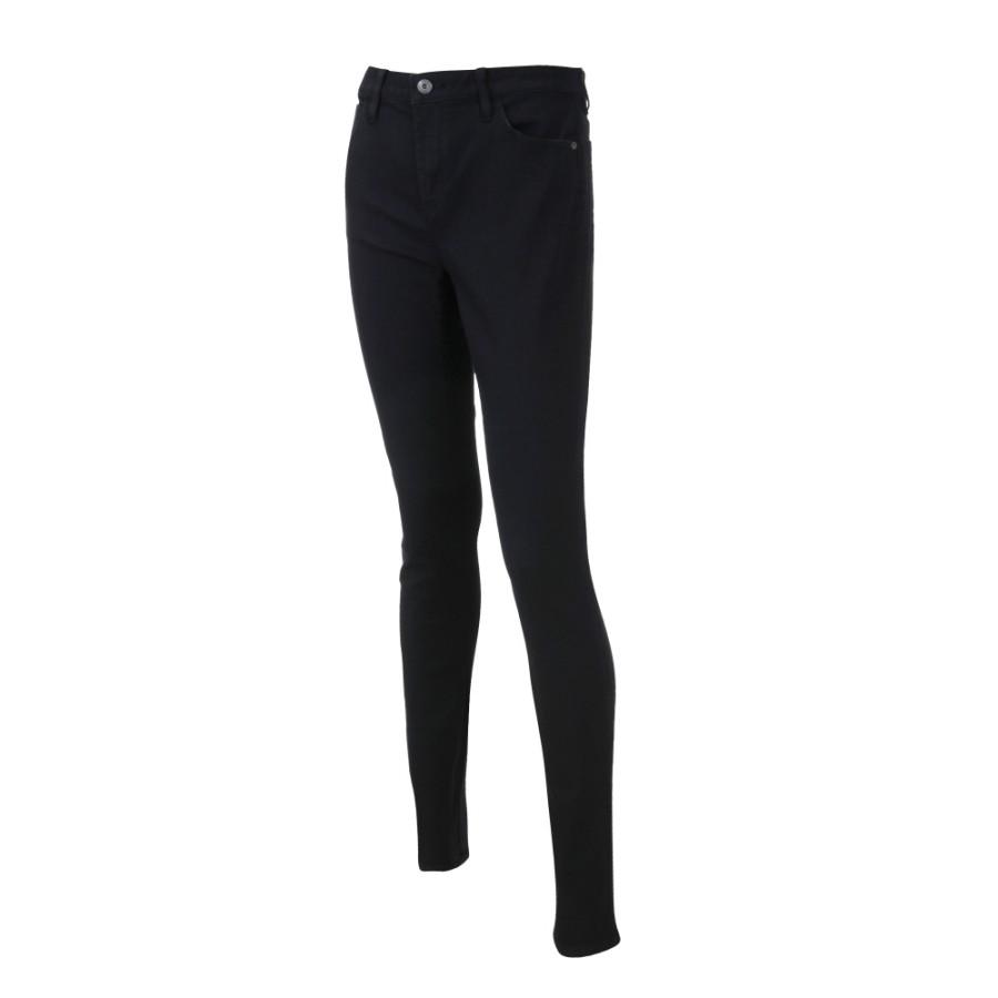 [A1J75] 여성 크리스탈 슈퍼 스키니 팬츠- 블랙