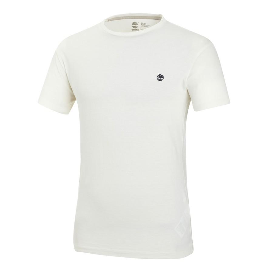 [A1MH6] 남성 스몰 로고 티셔츠- 화이트