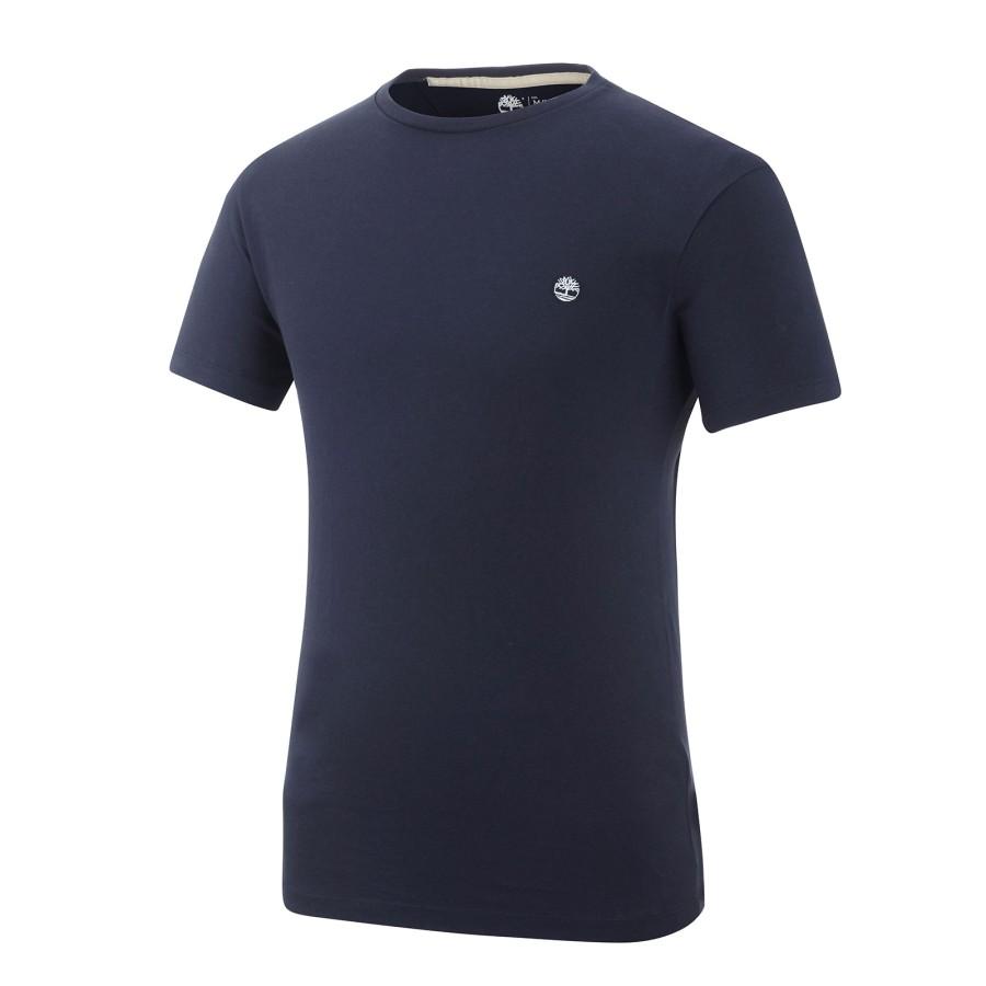 [A1MH6] 남성 스몰 로고 티셔츠- 블루