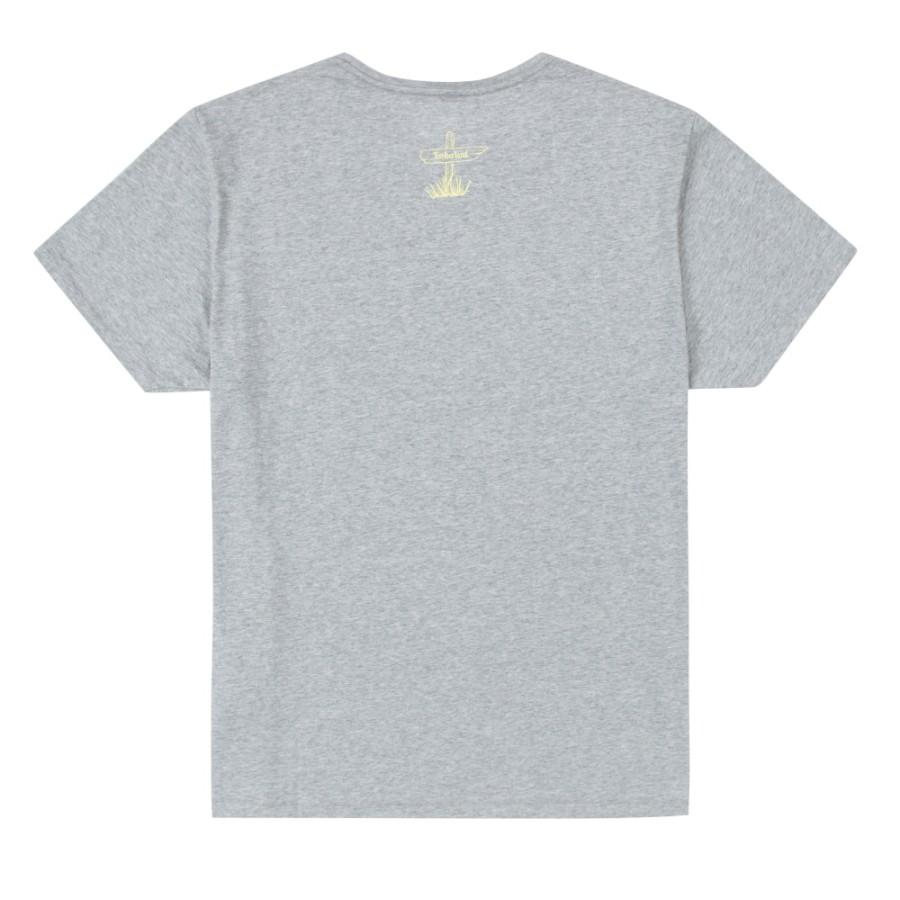 [A1MKX] 남성 그래픽 티셔츠 - 그레이