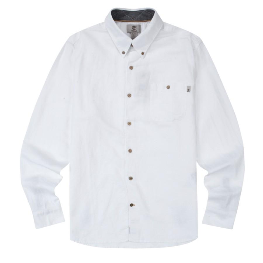 [A1N54] 남성 린넨 셔츠 슬림핏- 화이트