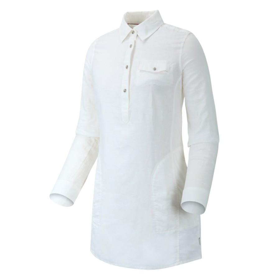 [A1NNN] 여성 폰드 토닉 포켓 셔츠- 화이트