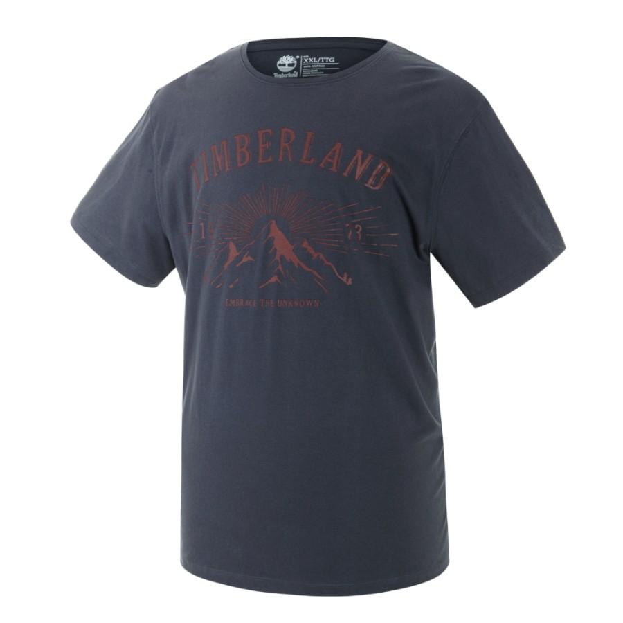 [A1SPU] 남성 그래픽 티셔츠- 블랙