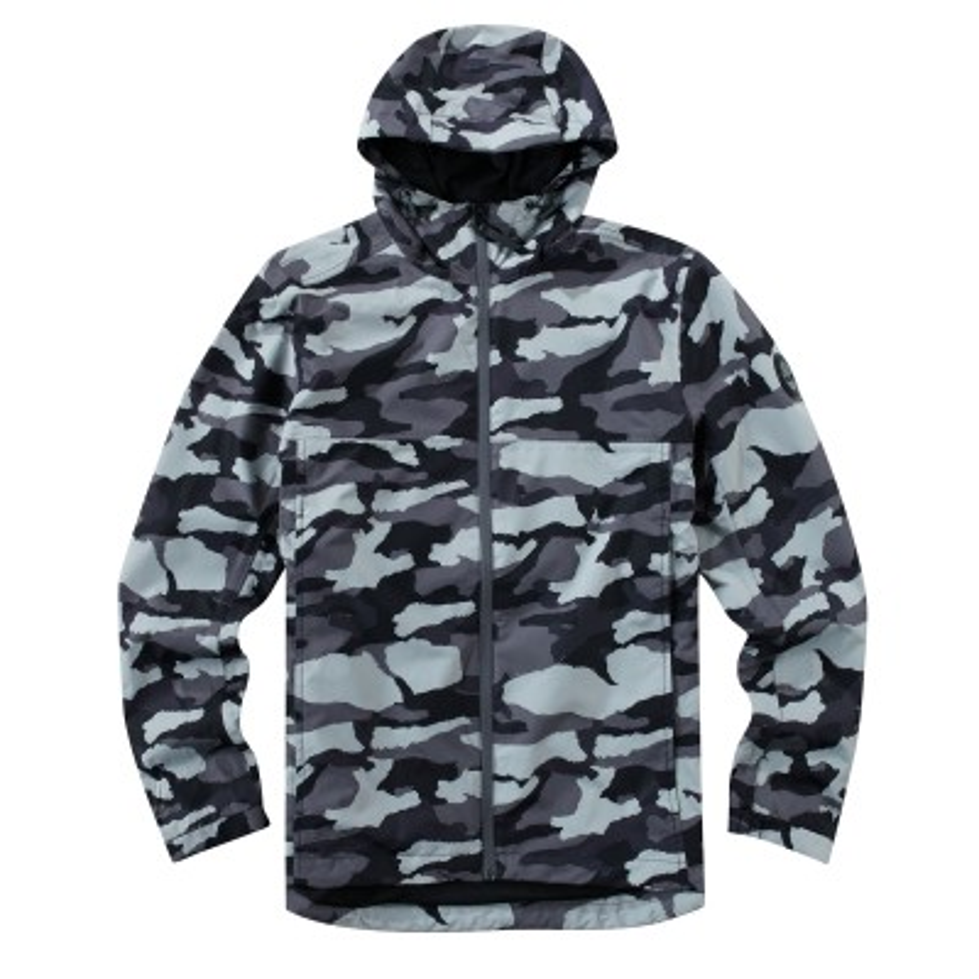 [A1SRQ] 남성 밀리터리 패턴 후드 자켓-  회색