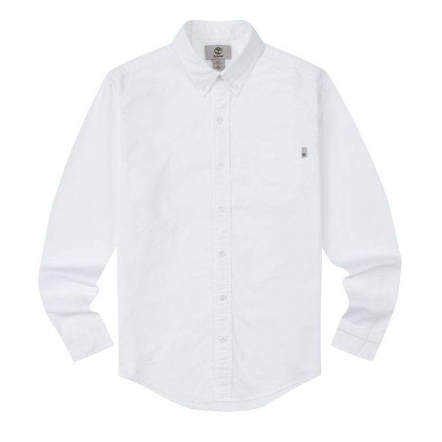 [A1T2H] 남성 옥스포드 셔츠- 화이트