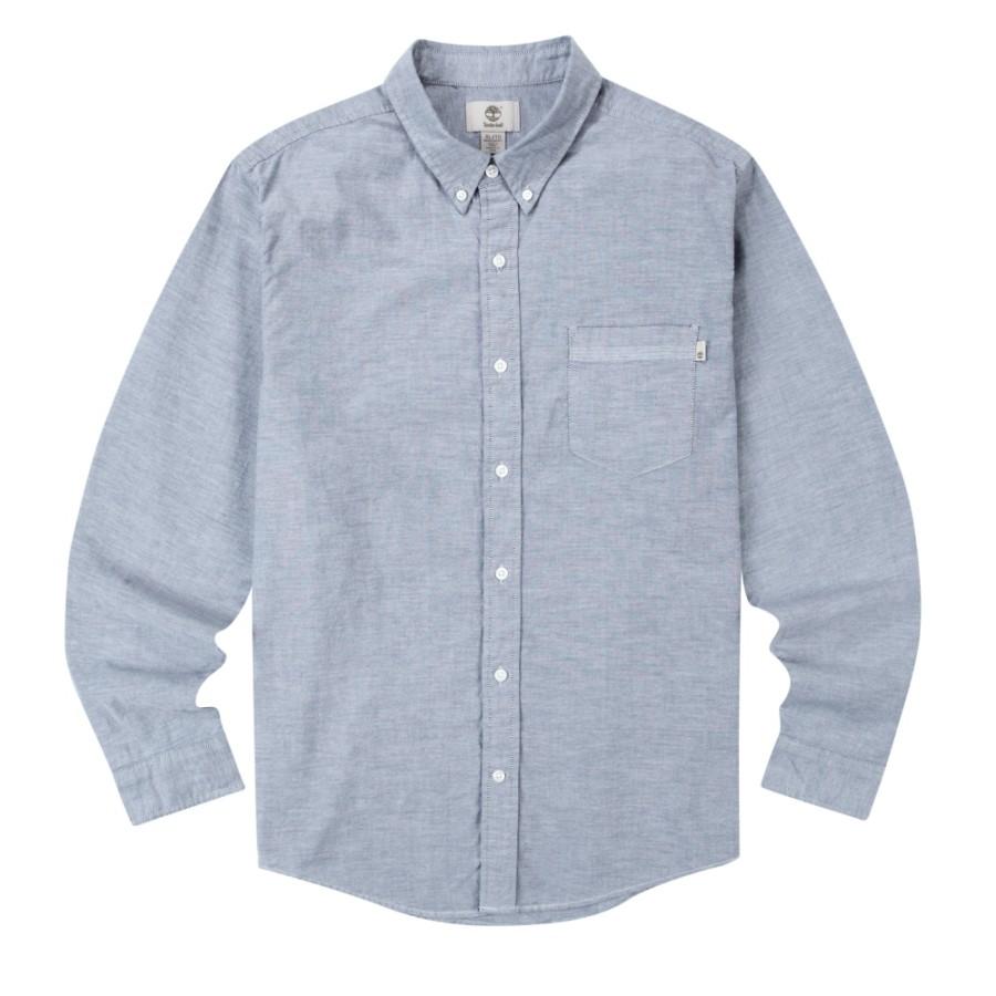 [A1T2H] 남성 옥스포드 셔츠- 다크 블루