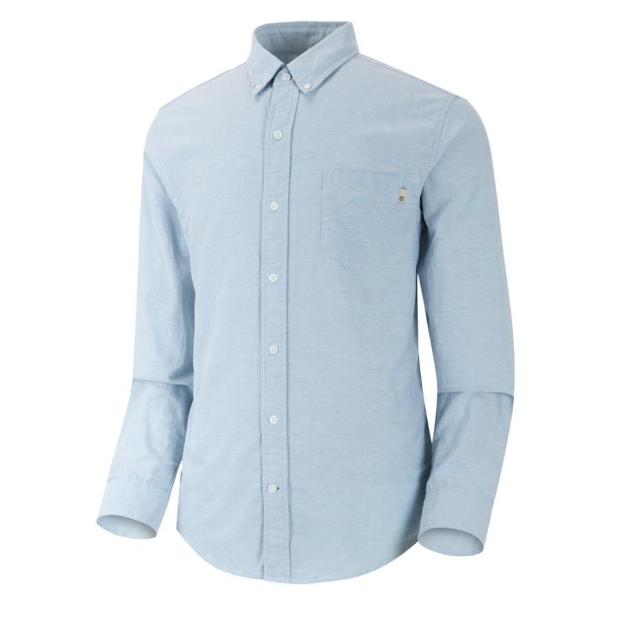 [A1T2H] 남성 옥스포드 셔츠- 스톤 블루