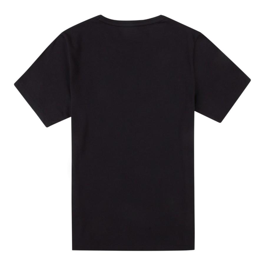 [A1T8R] 남성 골드 트리 로고 티셔츠- 블랙