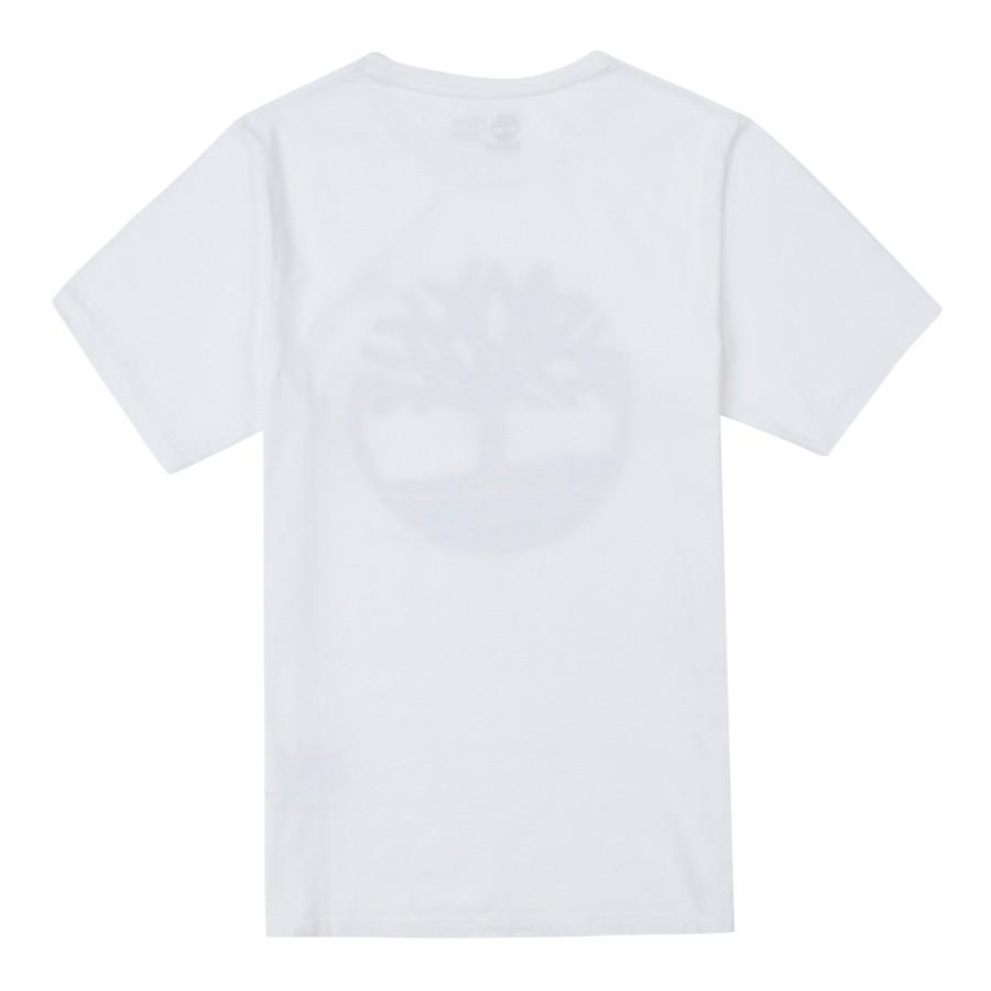 [A1T8R] 남성 골드 트리 로고 티셔츠- 화이트
