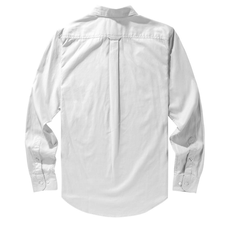 [A1FPS] 남성 옥스포드 셔츠 슬림핏 - 화이트