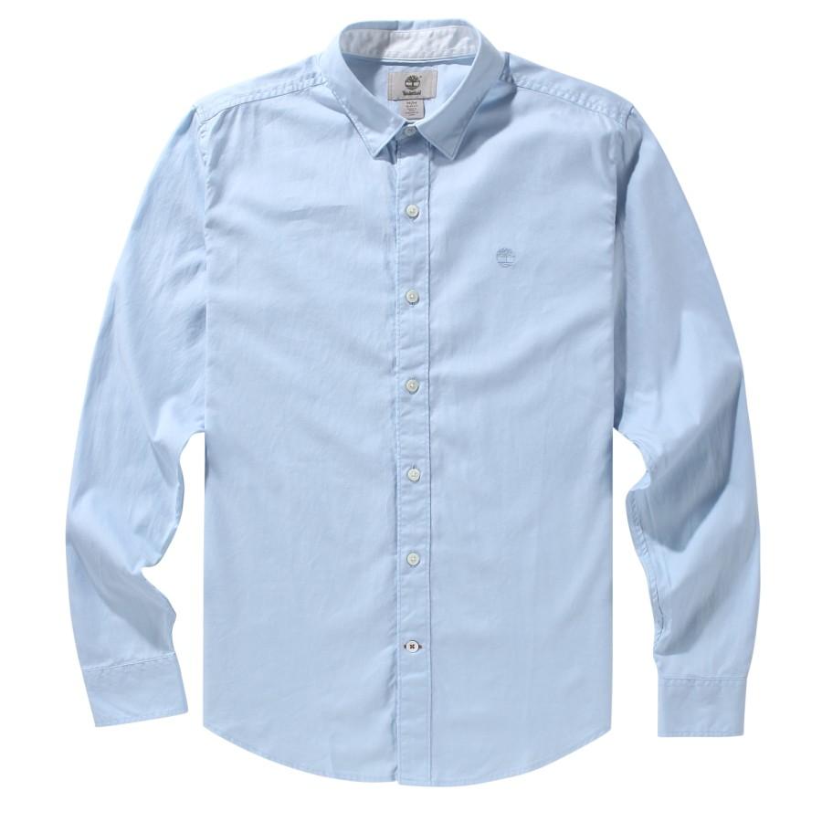 [A1FPS] 남성 옥스포드 셔츠 슬림핏 - 스카이 블루