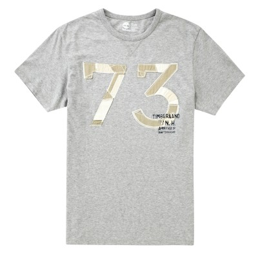 [A1FYX] 남성 그래픽 티셔츠- 그레이