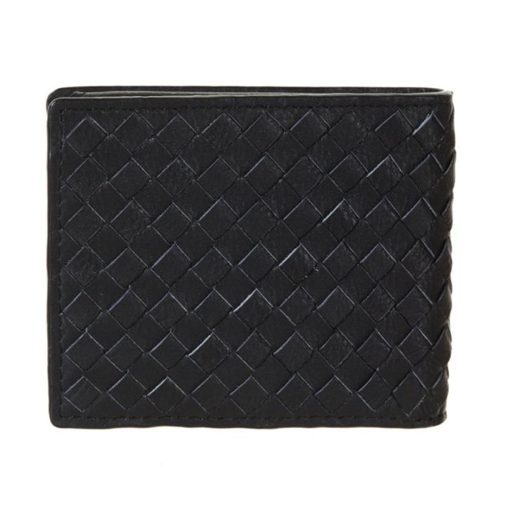 [A1DOA] 남성 인터록킹 지갑 - 블랙