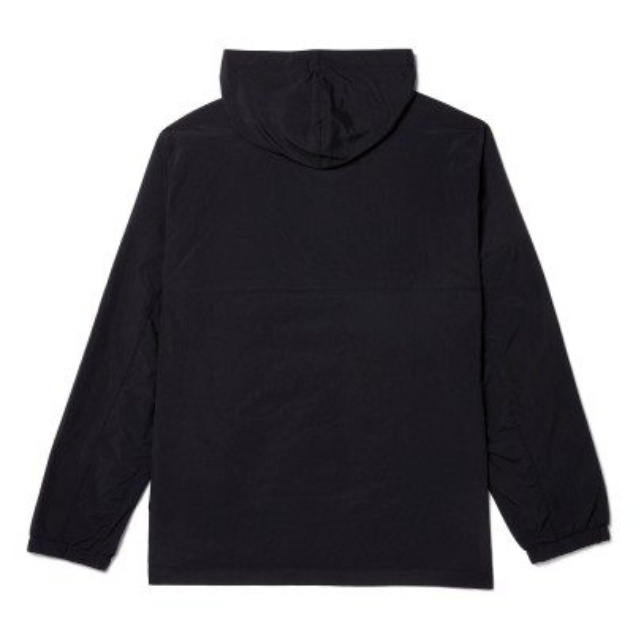 [A1N8C] 남성 SLS 윈드브레이커 후디드 풀오버 - 블랙