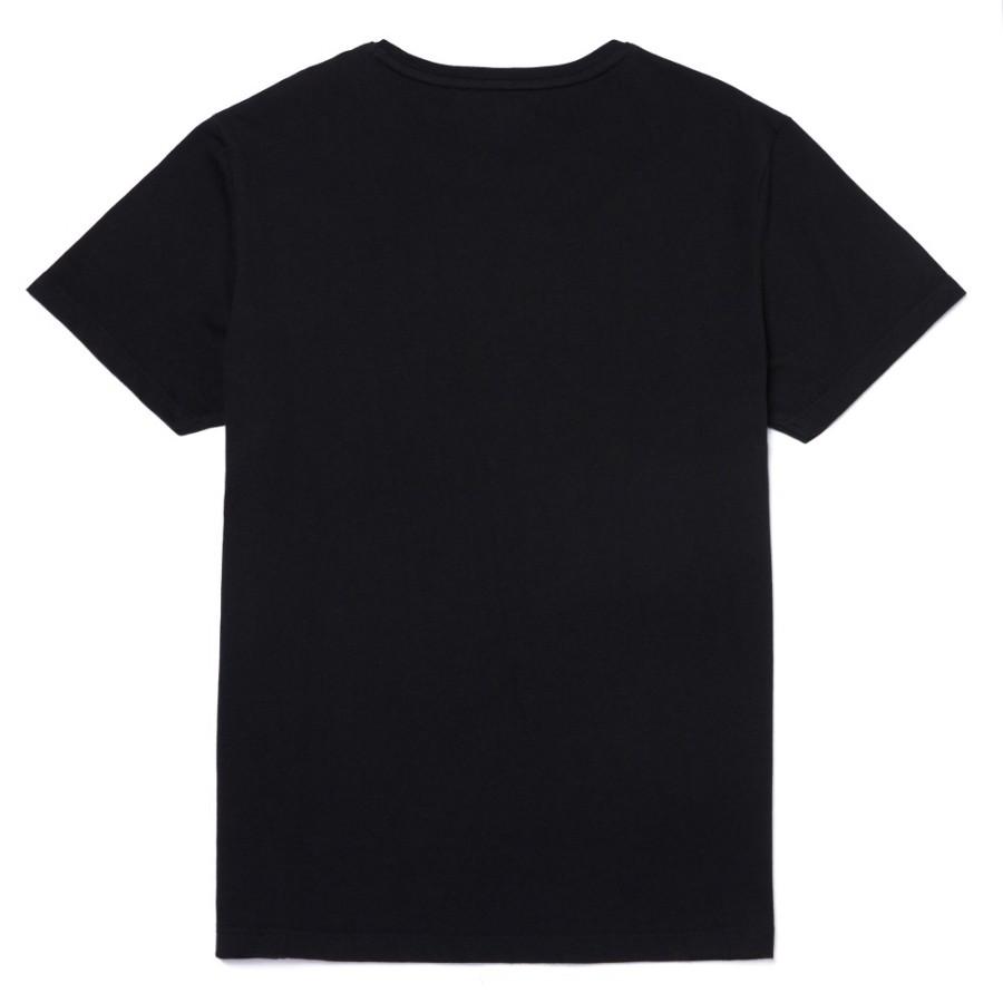 [A1WYK] 남성 켄벡 리버 시즈널 패턴 슬림티 - 블랙