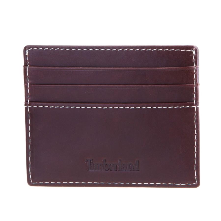 [A1DM6] 남성 오픈 포켓 카드지갑- 브라운