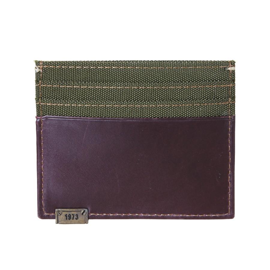 [A1DNW] 남성 익스플로디드 트리 카드 지갑 - 퍼플
