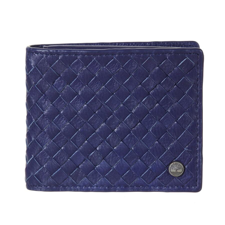 [A1DOA] 남성 인터록킹 지갑 - 블루