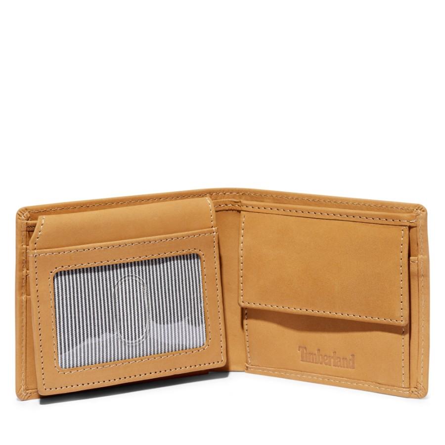 [A1DVE] 남성 트리로고 PASSCASE 지갑 - 위트브라운