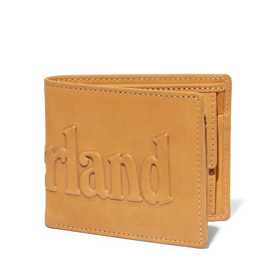 [A1DVF] 남성 풀로고 PASSCASE 지갑 - 위트브라운