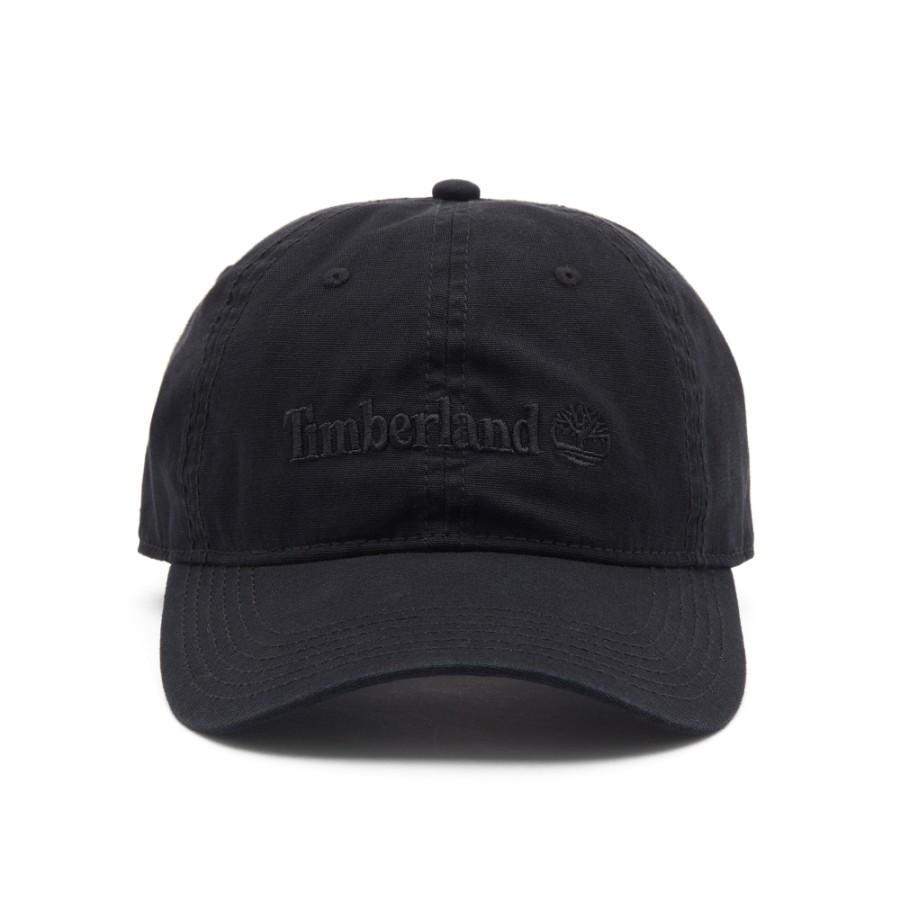 [A1E9I] 남성 코튼 캔버스 모자 - 블랙