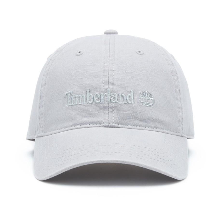 [A1E9I] 남여공용 로고 플레인 볼캡 - 라이트그레이