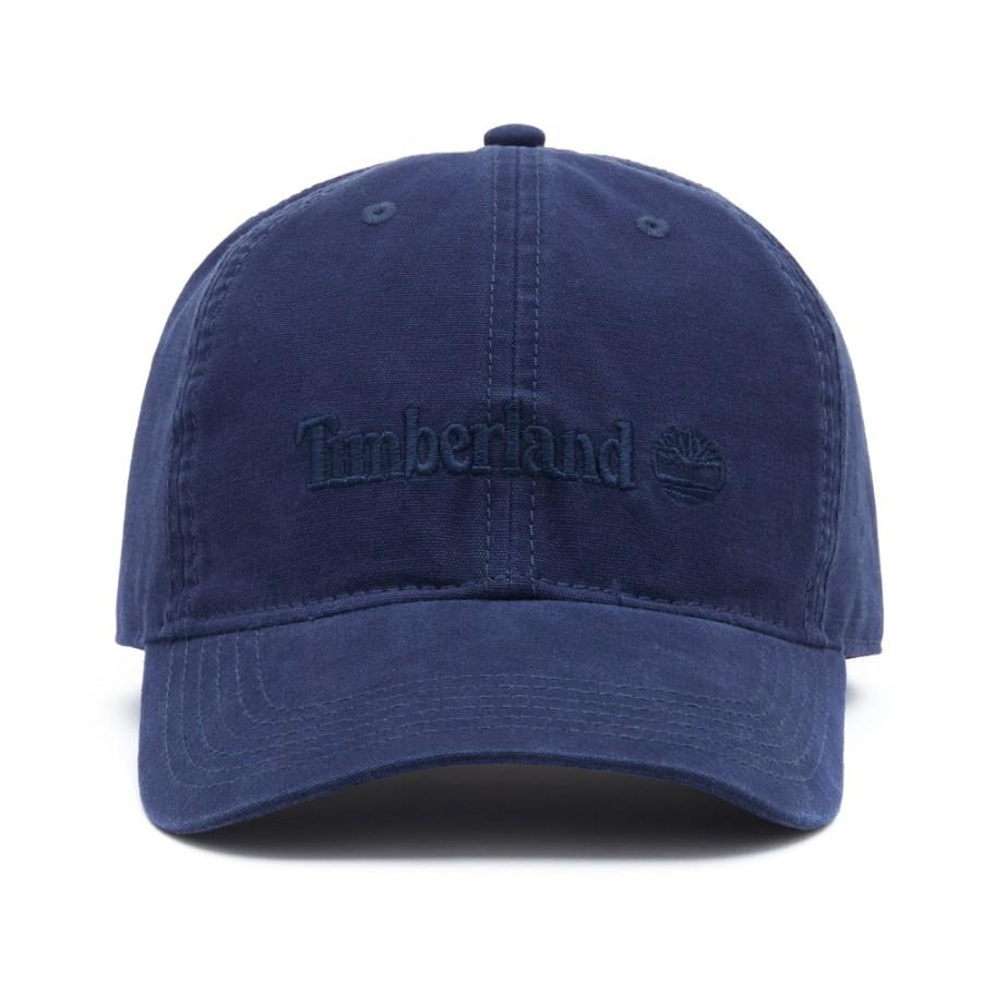 [A1E9I] 남여공용 로고 플레인 볼캡 - 네이비