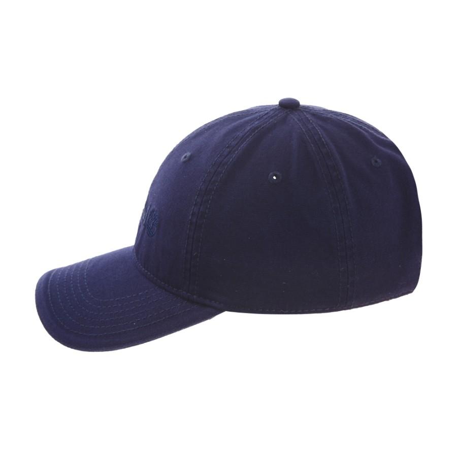 [A1E9I] 남성 코튼 캔버스 캡 - 블루