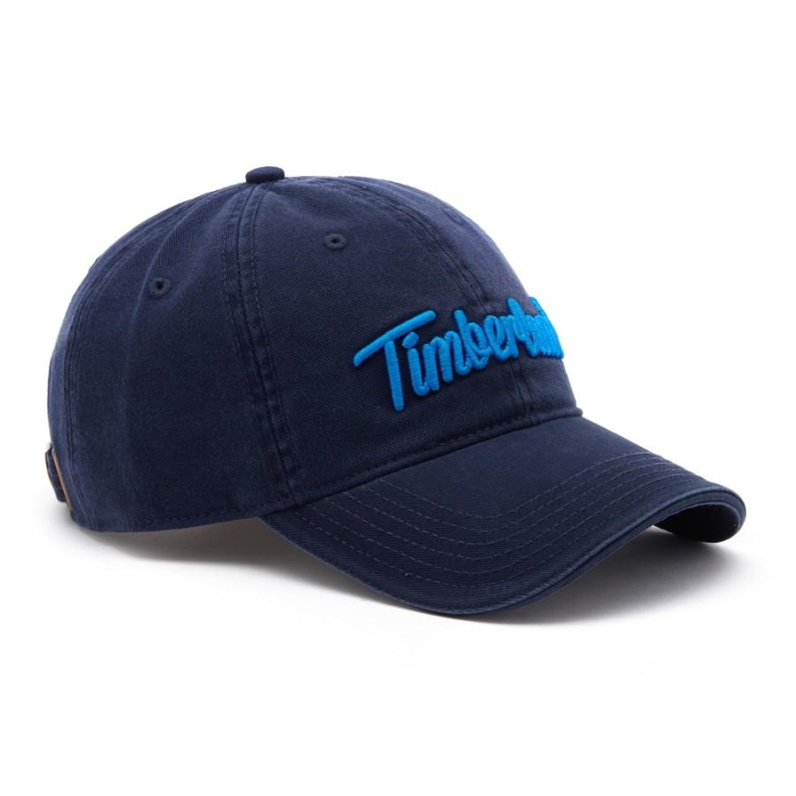 [A1E9L] 남성 엠브로이더드 로고 모자 - 피코트