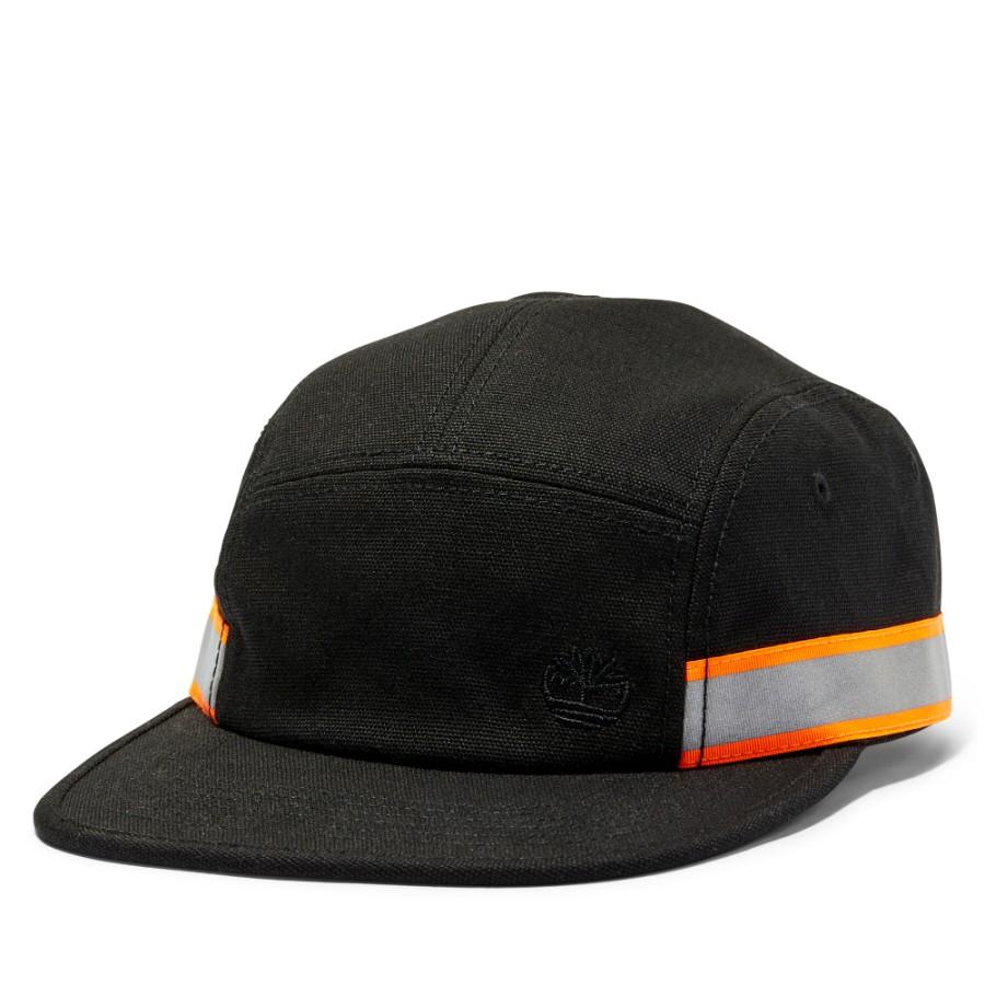 [A1EZT] 남여공용 리플렉티브 캡 - 블랙