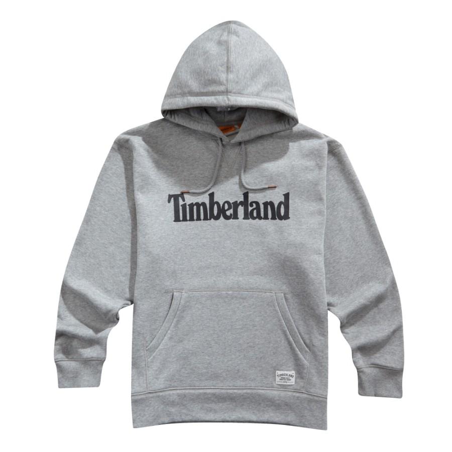 [A1LIO] 남녀공용 팀버랜드 후드티셔츠- 그레이