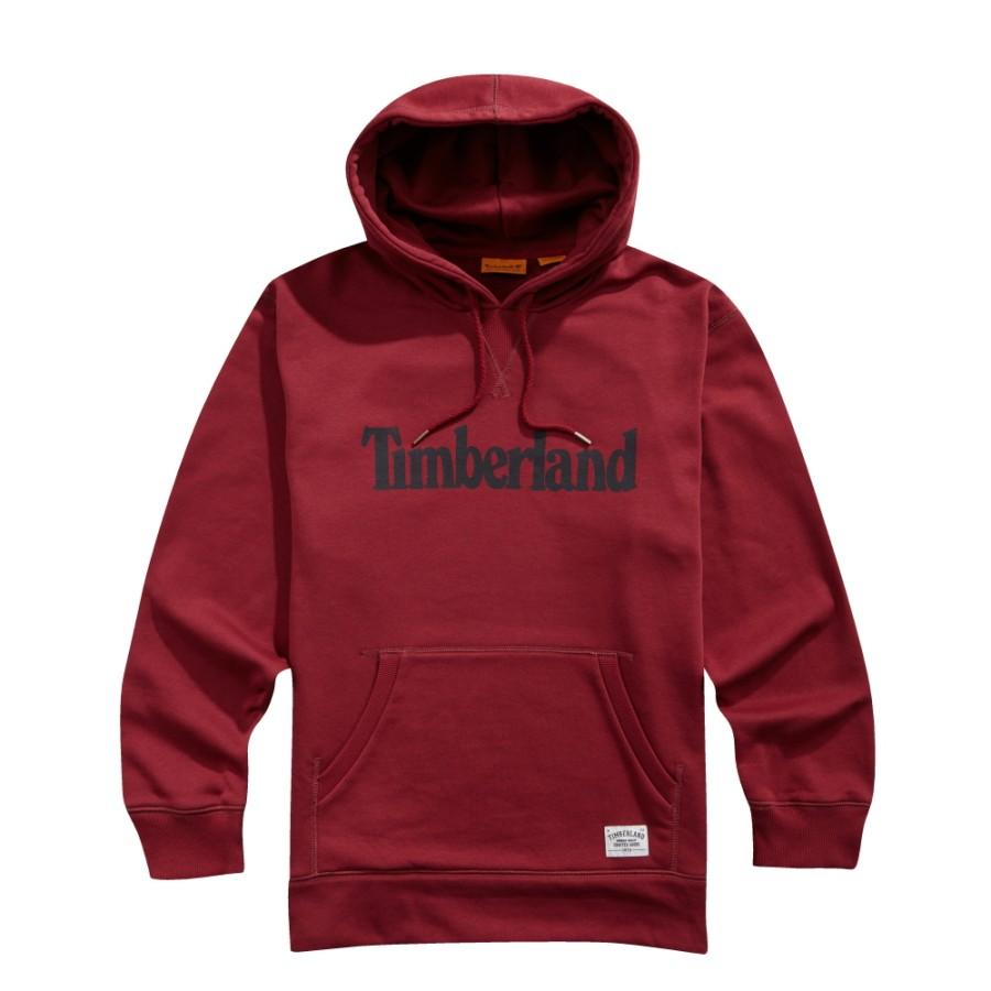 [A1LIO] 남녀공용 팀버랜드 후드티셔츠- 레드