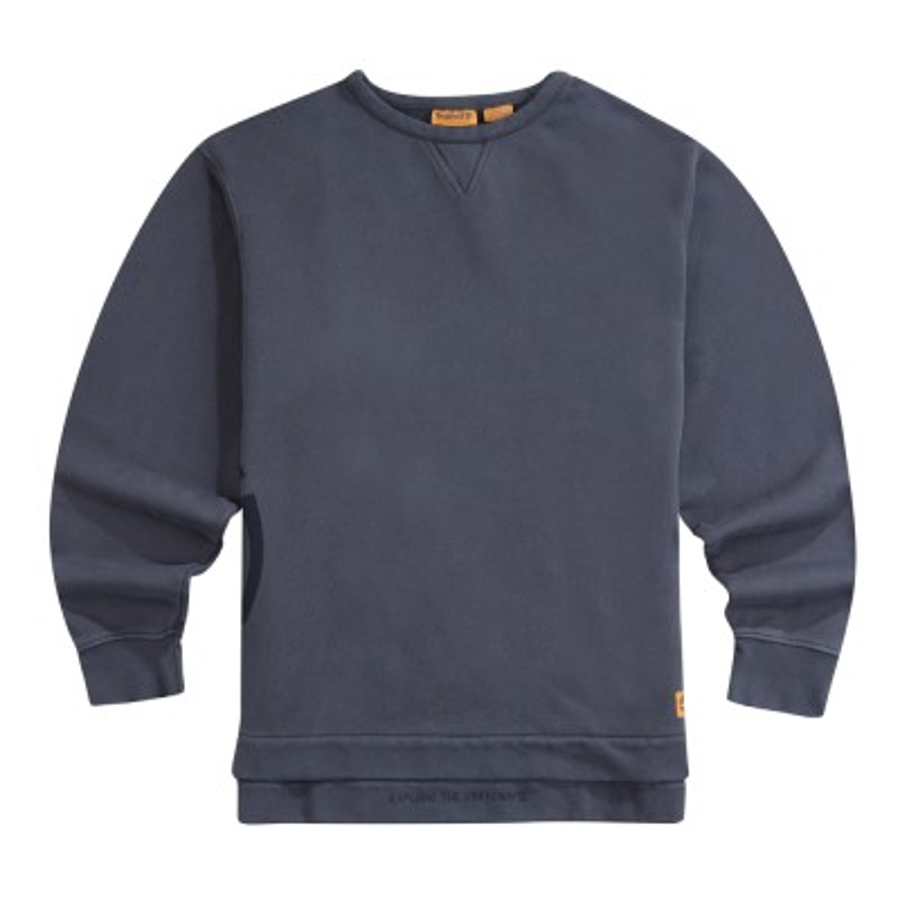 [A1LJM] 남성 크루넥 티셔츠- 블랙