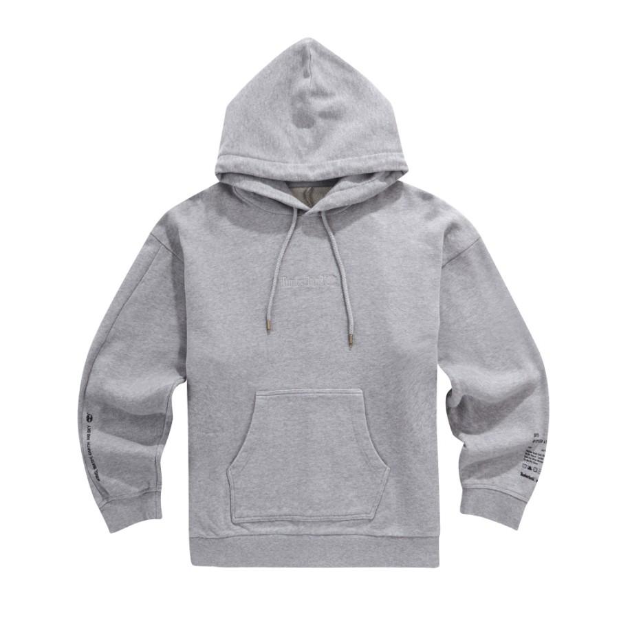 [A1LM3] 남성 몽키타임 후드 티셔츠-그레이