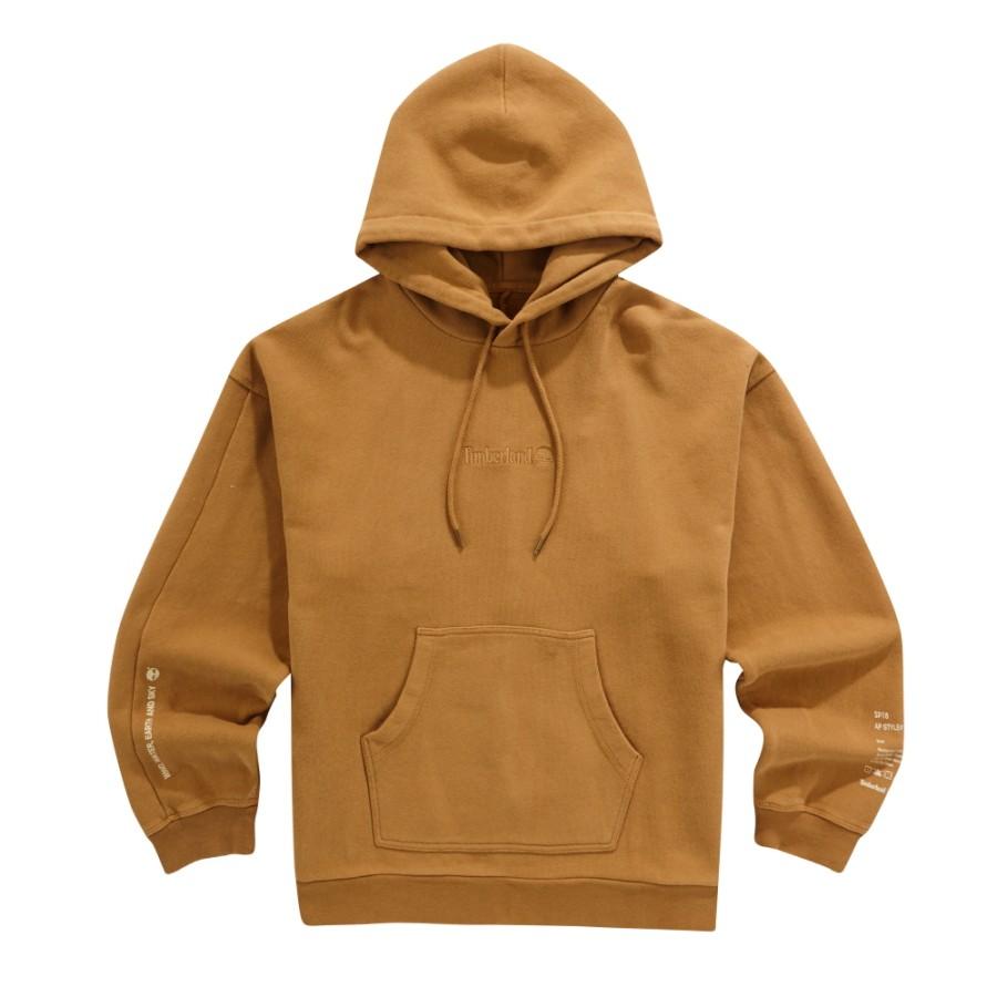 [A1LM3] 남성 몽키타임 후드 티셔츠-브라운