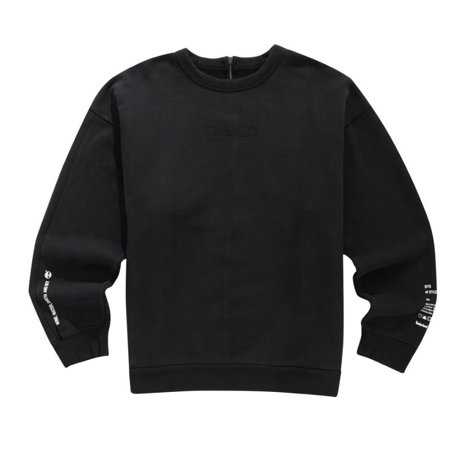 [A1LM4] 남성 몽키타임 크루 스웨트 티셔츠- 블랙