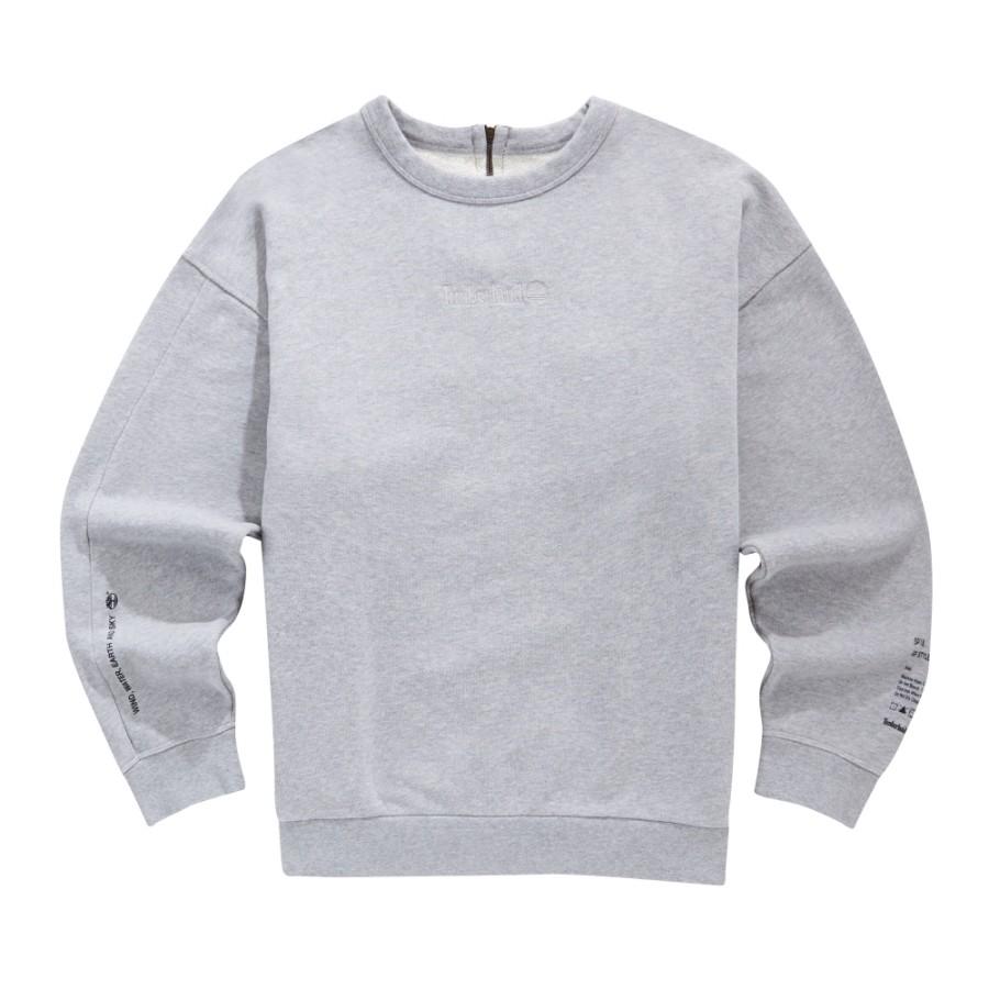 [A1LM4] 남성 몽키타임 크루 스웨트 티셔츠- 그레이