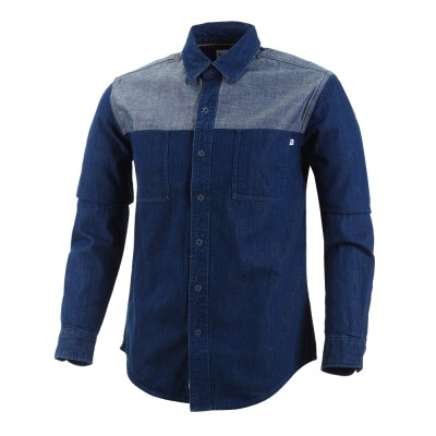 [A1LXP] 남성 뭄포드 리버 데님 셔츠 - 블루