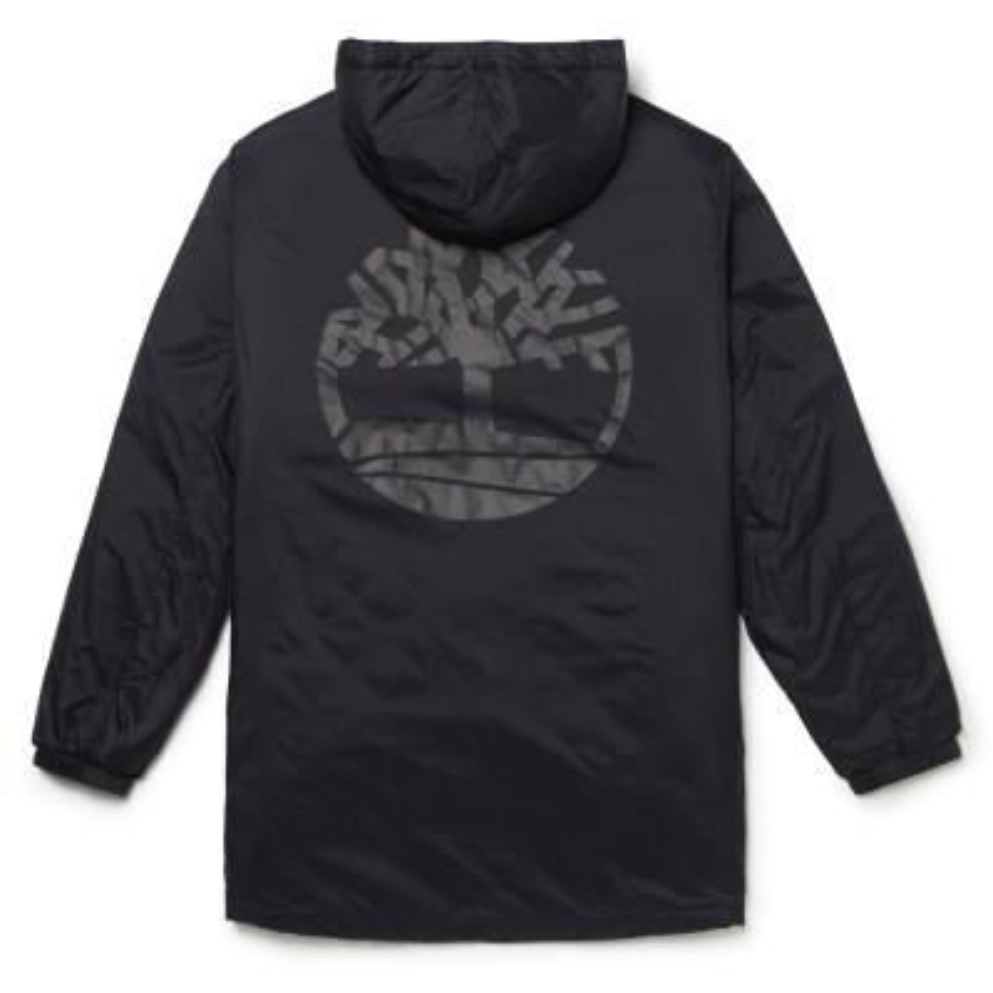 [A1N8L] 남성 Insulated 코트 - 블랙