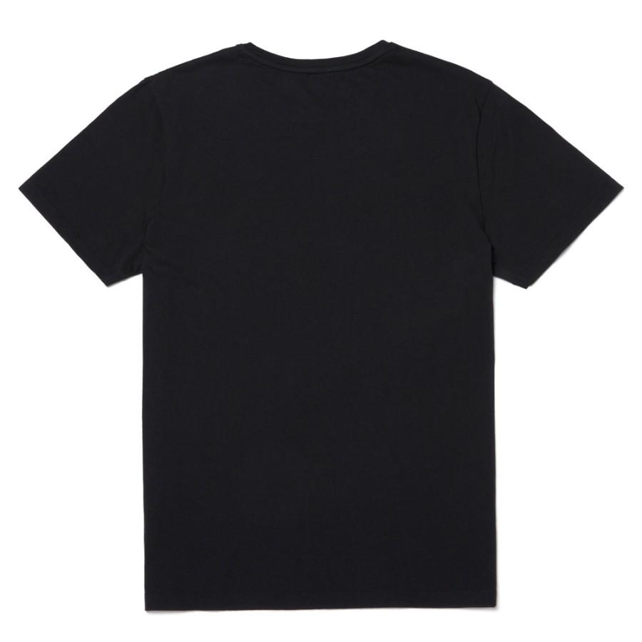 [A1NAI] 남성 켄백 리버 브랜드 레귤러 티 - 블랙