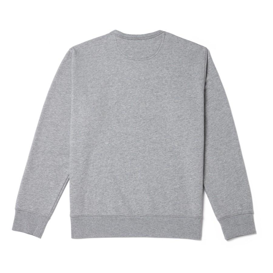 [A1OI1] 남성 아시아 SMU 크루 스웨터 - 그레이