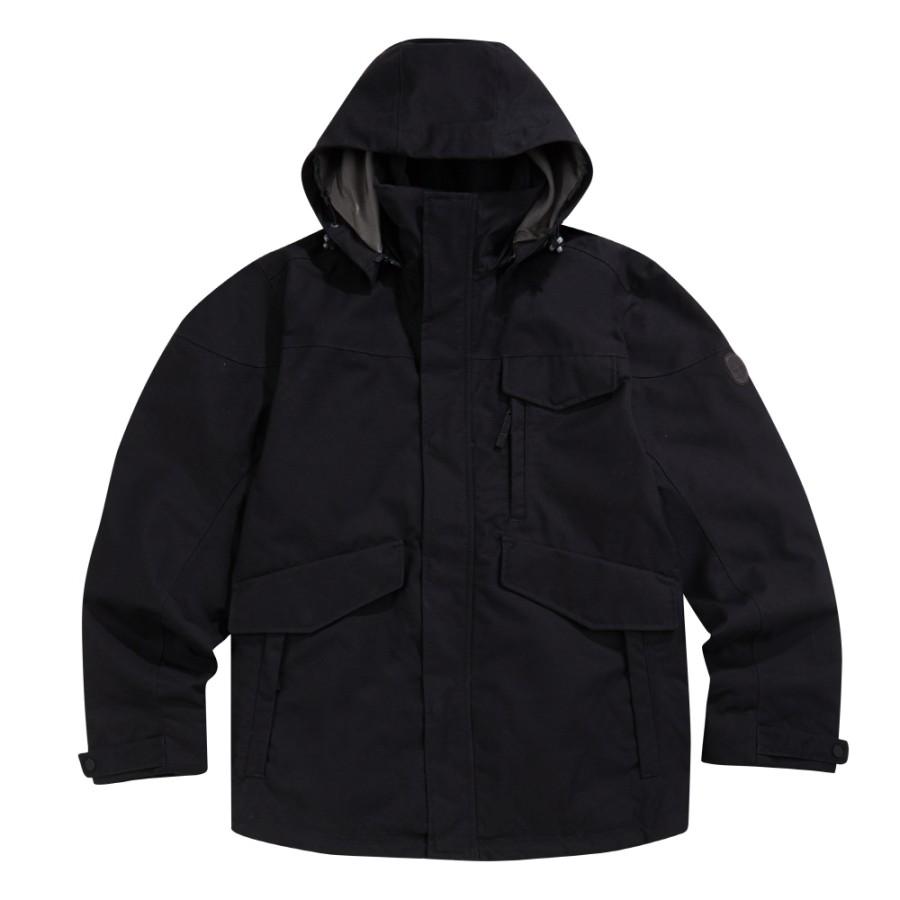 [A1UBH] 남성 러기드 마운틴 쓰리인원 자켓- 블랙