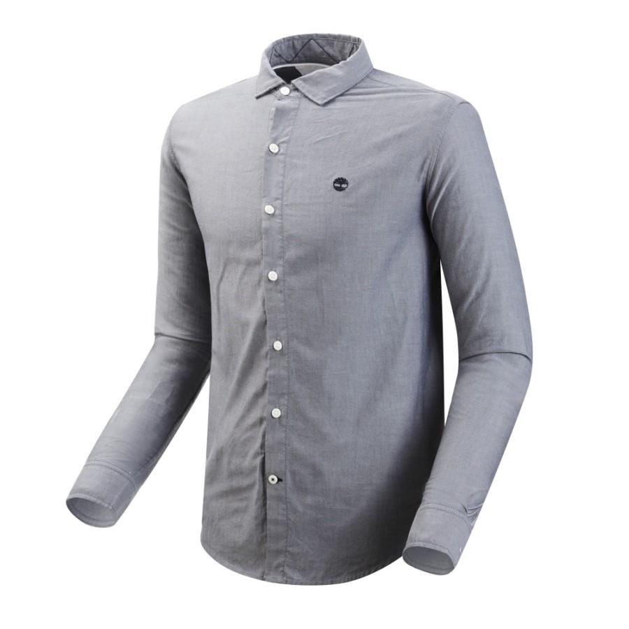 [A1UQ9] 남성 레인 리버 옥스포드 슬림 셔츠 - 다크 사파이어
