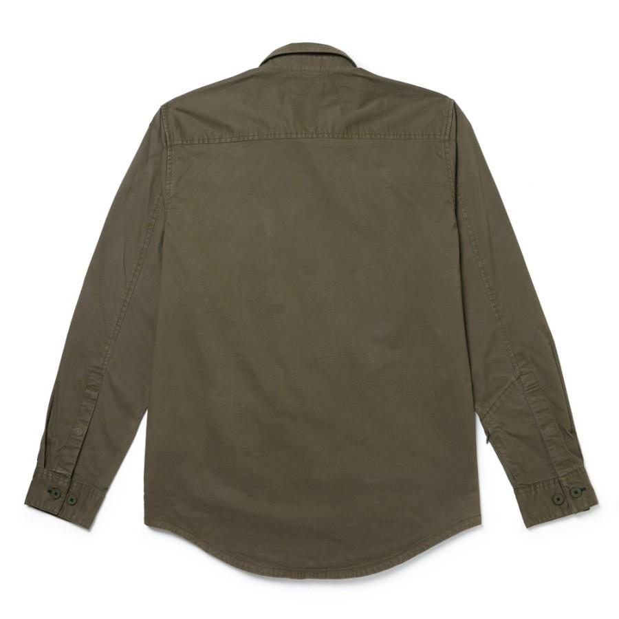 [A1WRY] 남성 트래블 유틸리티 스트레치 셔츠 - 포도잎
