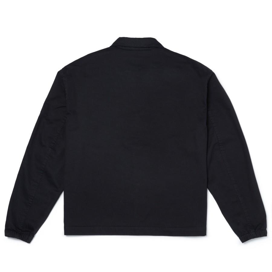 [A1WY1] 남성 코치자켓 - 블랙